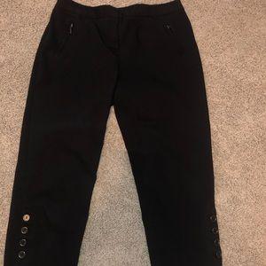 Style & co black capris